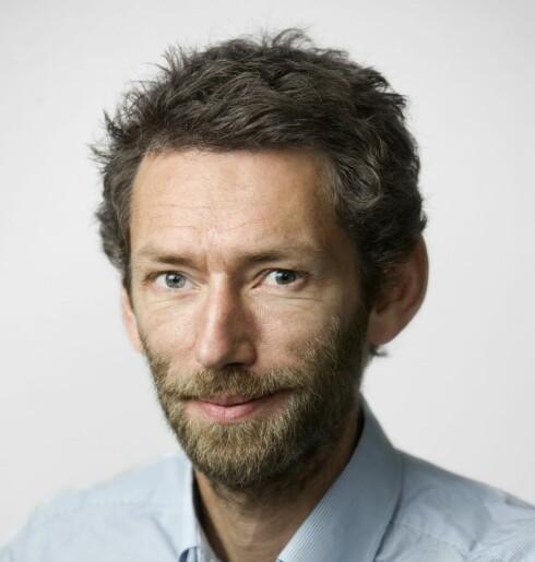 Informasjonssjef Christian Haraldsen. Foto: GJENSIDIGE
