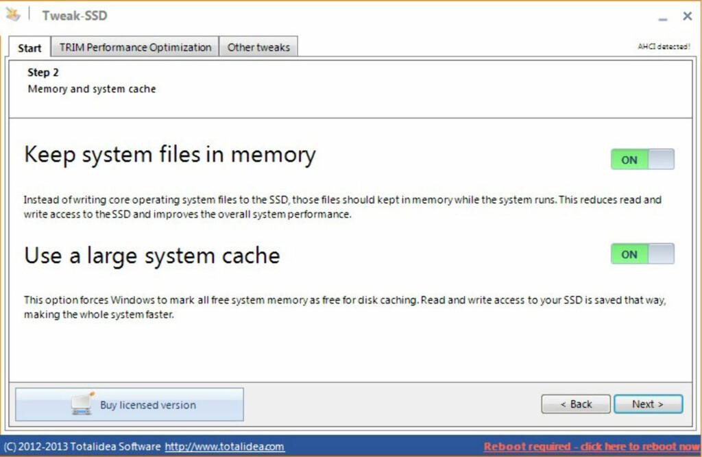 image: Finjustering for SSD-en din