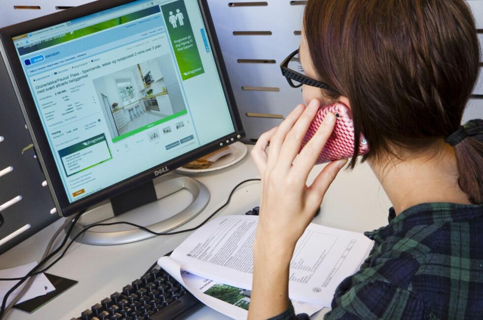 Får Norges Eiendomsmeglerforbund (NEF) det som de vil, kan ditt telefonbud i fremtiden bli tatt opp og lagret. Foto: Per Ervland