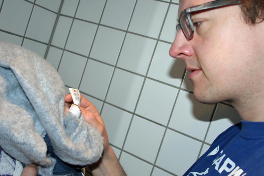 En god del av henvendelsene til Lilleborgs ekspert på klesvask gjelder vaskesymbolene. Foto: Berit B. Njarga