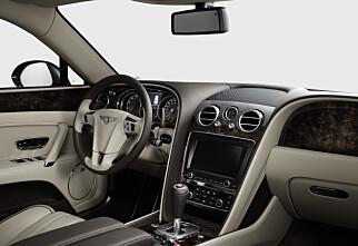Luksuriøst: Bentley Flying Spur