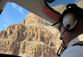 I helikopter til Grand Canyon
