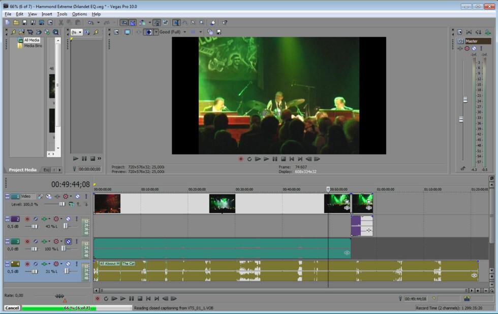 Ettersynkronisering i videoredieringsprogrammer er enkelt hvis du har filmet og tatt opp et klapp eller tilsvarende. Foto: Brynjulf Blix