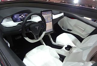 Utsatt: Tesla Model X