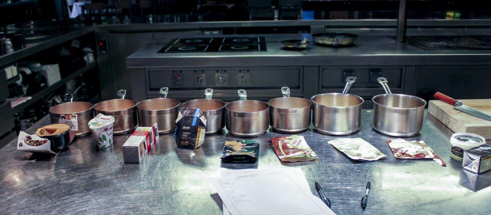 Åtte peppersauser er blitt testet ut. Foto: Elisabeth Dalseg
