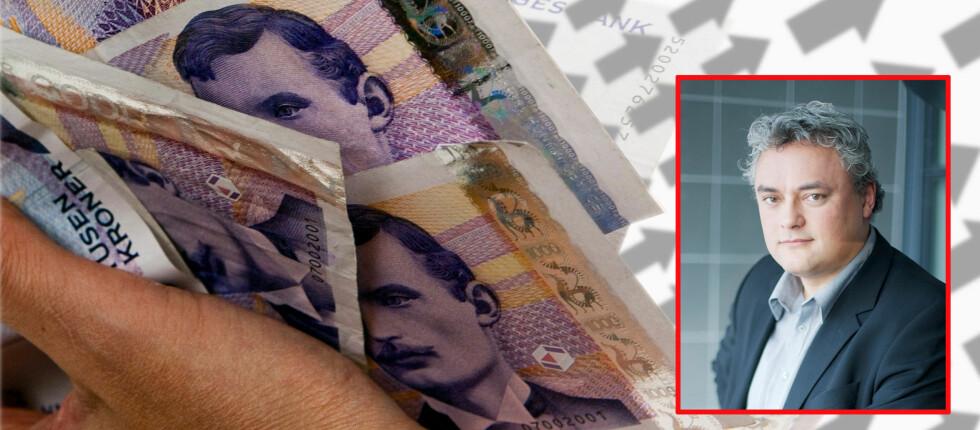 Jorge Jensen, fagdirektør Finans i Forbrukerrådet, oppfordrer norske bankkunder til å avslå bankenes ønske om spleiselag.  Foto: Tuva Moflag
