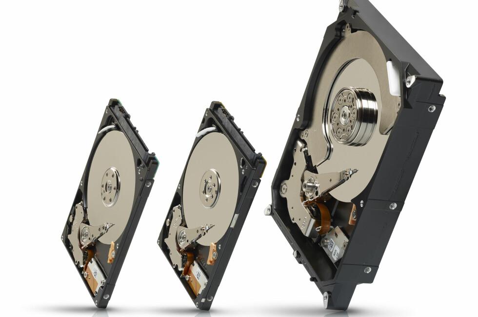Seagate har begynt å lage SSD-er, men bruker fortsatt store deler av utviklingsressursene på harddisker. Foto: Seagate