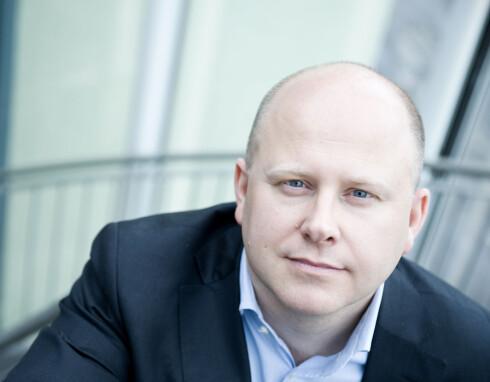 Baard Schumann, administrerende direktør i Selvaag Bolig. Foto: Selvaag