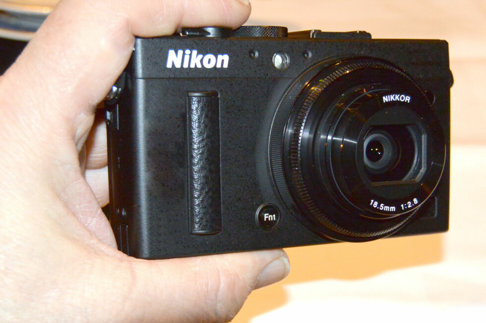 Kompaktkamera med DX-bildebrikke. Foto: Brynjulf Blix