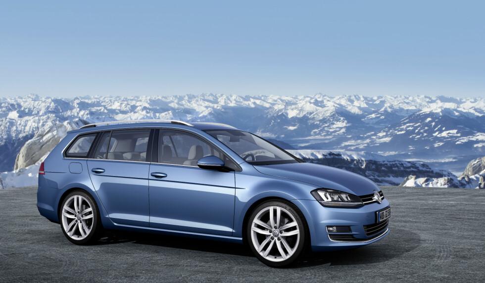 Volkswagen håper å selge 1.500 eksemplarer i året av den nye stasjonsvognen Foto: VW