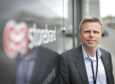 Bjørn Erik Sættem, informasjonssjef for sparing og pensjon i Storebrand.  Foto: STOREBRAND