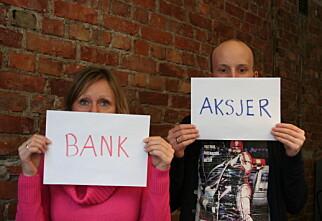 Spareavtale i aksjefond slår banken selv i krisetider