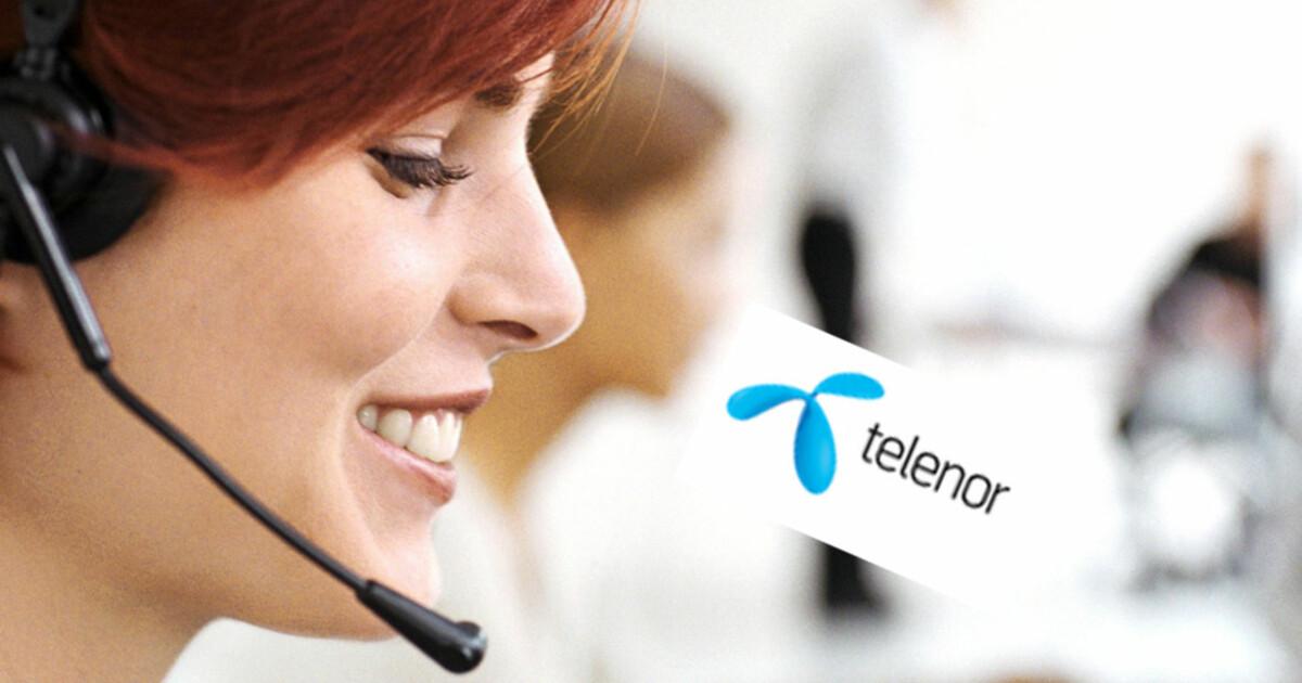 Kundeservice: Telenor tregest når du ringer