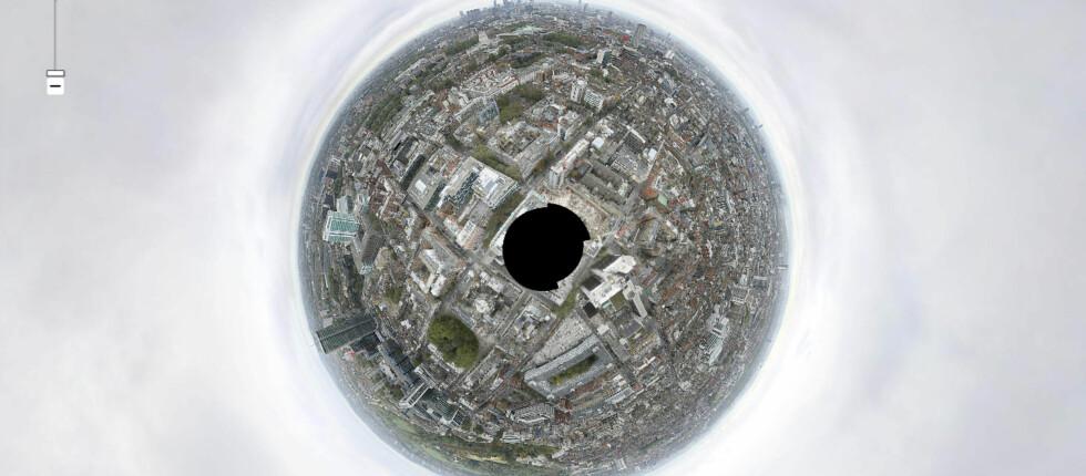 320 gigapiksler: Dette bildet av London kan du zoome inn i med imponerende detaljer.