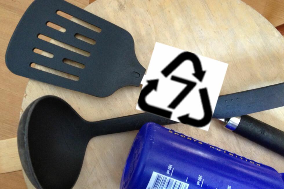 Dette pilsymbolet med tallet sju kan skjule to problematiske stoffer, PC og PA. Foto: Berit B, Njarga