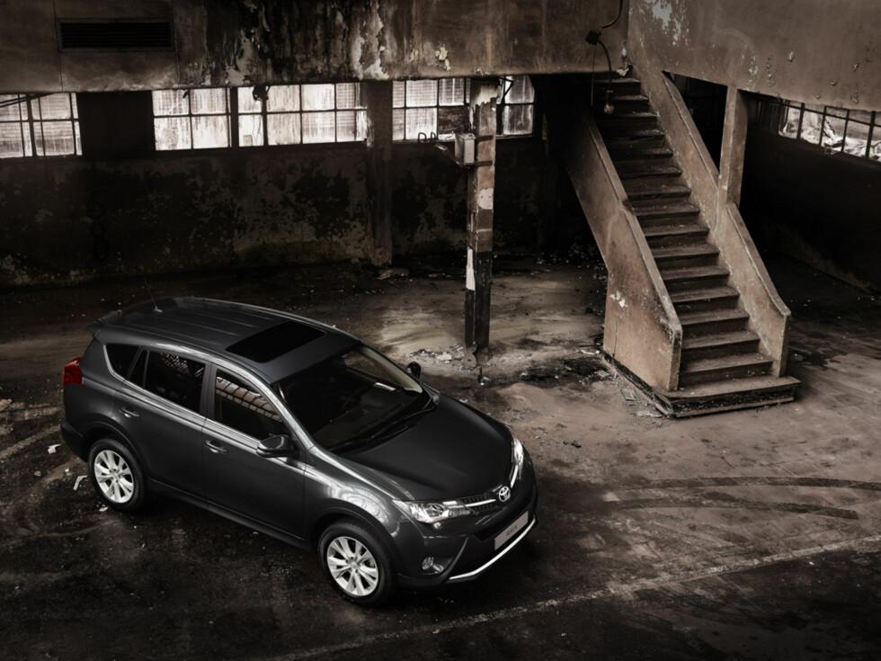 Velkjent profil, større bil... Foto: Toyota