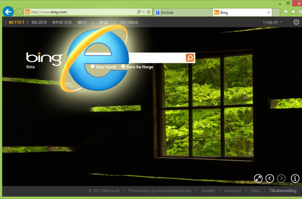 Internet Explorer 10 byr på bedre ytelse og bedre støtte for webstandarder.