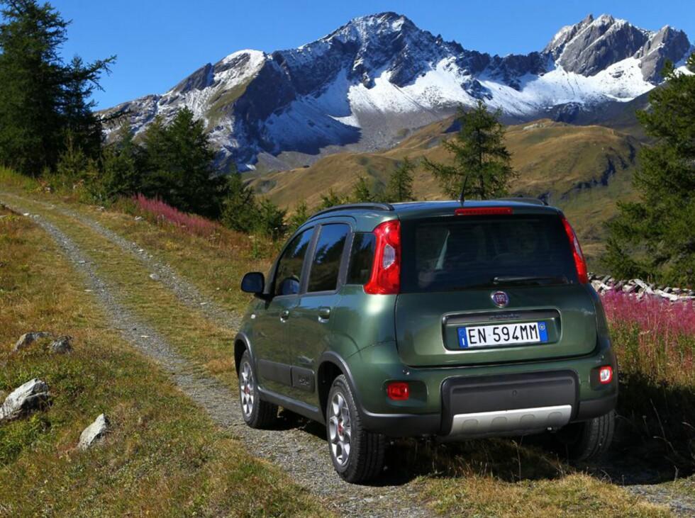 Norges billigste 4x4 heter Fiat Panda, og er på markedet fra disse dager.