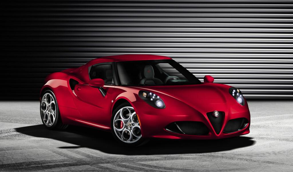 image: Her er Alfa Romeo 4C