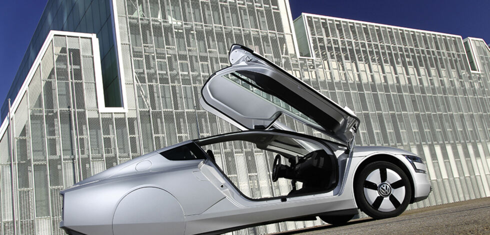 image: Volkswagen XL1 blir virkelighet