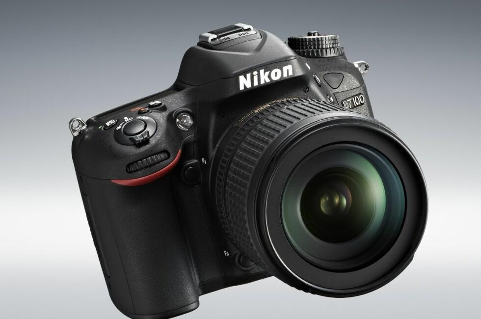 Nikon D7100 lansert