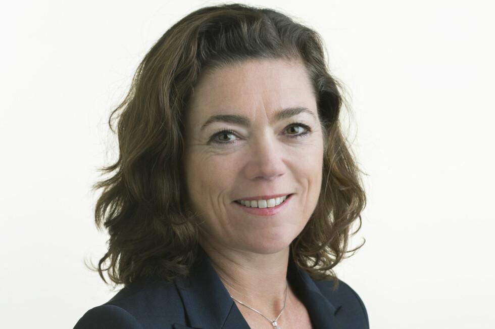 BEKYMRET: Administrerende direktør i NHO, Kristin Skogen Lund, er bekymret for norske bedrifter konkurranseevne og taler for at lønnsveksten i Norge må bremses. Foto: Berit Roald