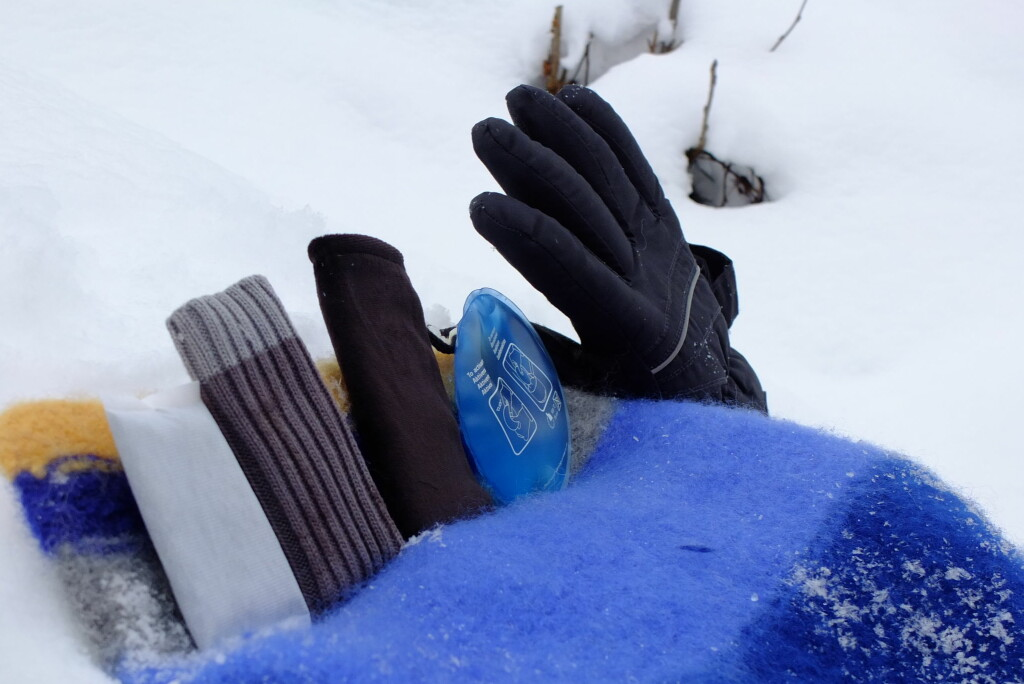 Vi har testet fem ulike håndvarmere ute på tur. Vi liker noen bedre enn andre. Foto: Kristin Sørdal