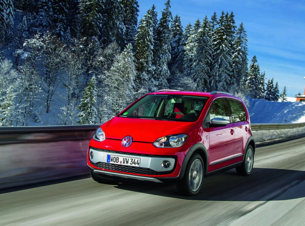 Up! er en bybil, men den tåler absolutt en tur på landeveien også Foto: Volkswagen