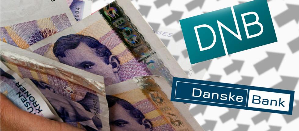 Danske Bank har allerede satt opp renten. Blir DNB neste bank ut? Foto: Per Ervland/Tuva Moflag