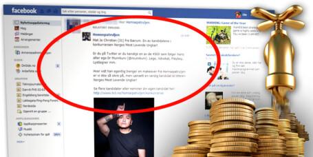 Facebook-annonser kan være ulovlig spam