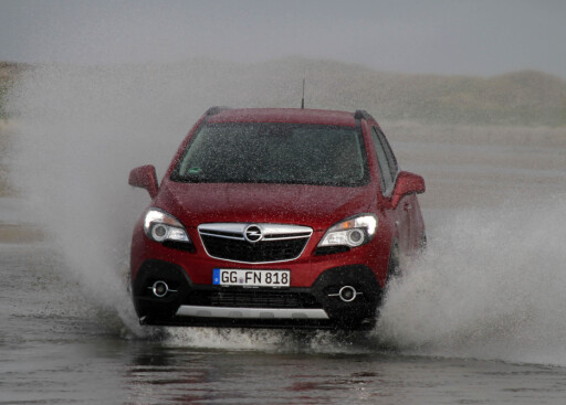 FOSSER FREM: Opel Mokka sørger for Opel-oppgang i januar.