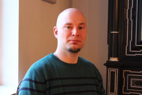 Morten Thyregod Paulsen er stipendiat ved Nofima, og forsker på smak, måltid og smakskombinasjoner. Foto: Kristin Sørdal