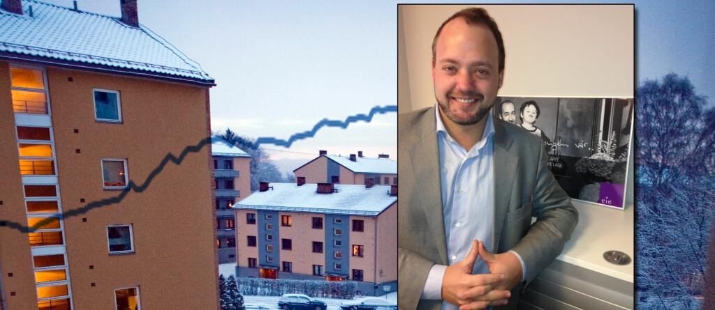 Thomas Koren tror eiendomsåret 2013 vil være en fortsettelse av 2012: Selgers marked.  Foto: Per Ervland/Eie Eiendomsmegling