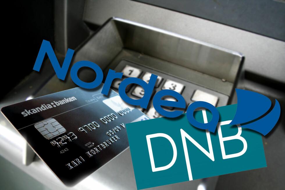 Skandiabanken hevder seg helt i toppen i kåringen av Norges beste totalbank, og er dessuten best på lån over 2 millioner. DNB er best av storbankene, men taper terreng sammenlignet med fjorårets kåring. Foto: Montasje: Øivind Idsø