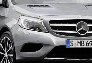 Gla'-versjon av Mercedes GLA