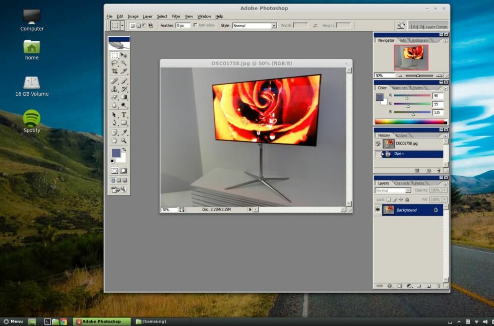 Følg denne oppskriften, så kan du kjøre Photoshop i Linux Mint og Ubuntu så fint som bare det.