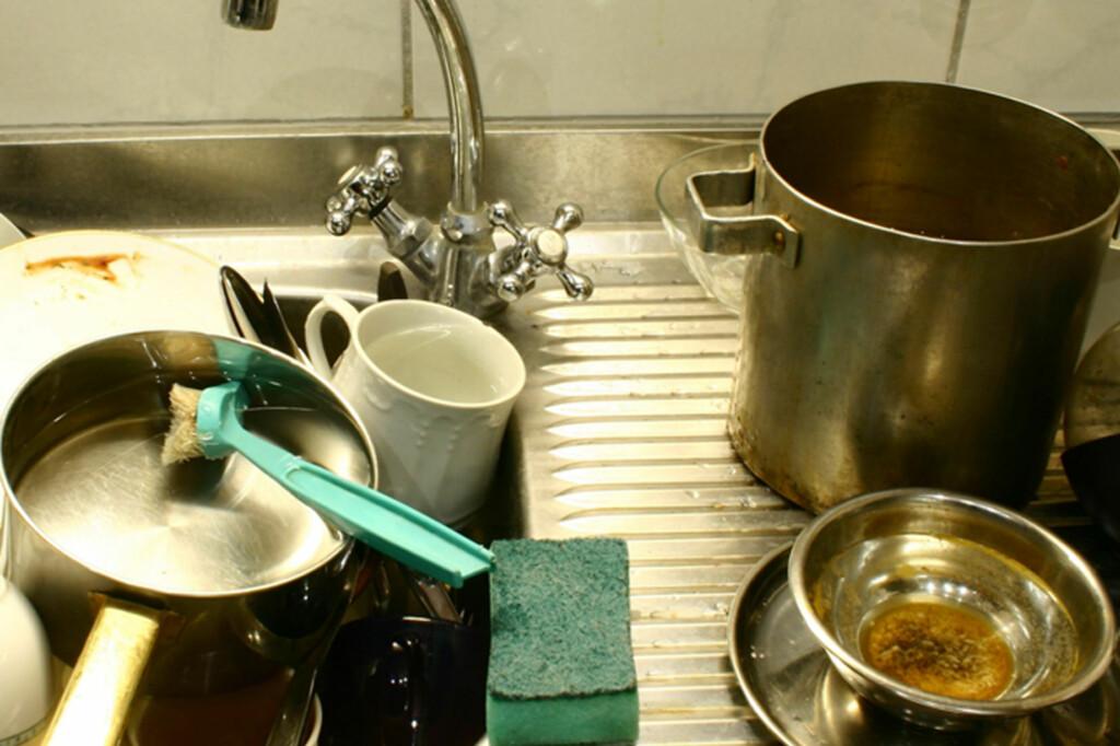 <b>På tide å pensjonere oppvaskbørsten?</b> Sjekk om du burde gi den en siste sjanse - eller to. Foto: All Over Press