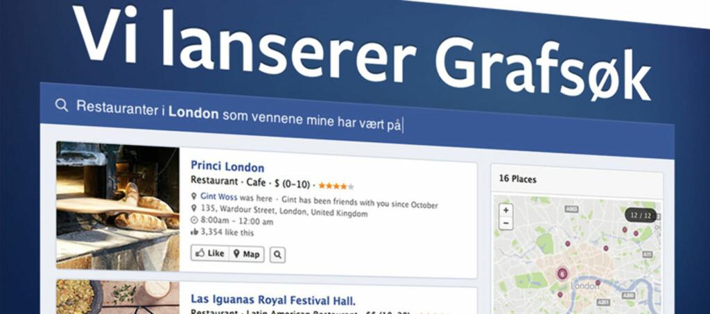 Facebooks nye grafsøk er bare begynnelsen –snart kan de gi Google kamp hele veien.