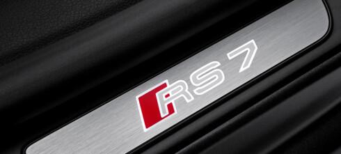 Audi RS7 - den som manglet