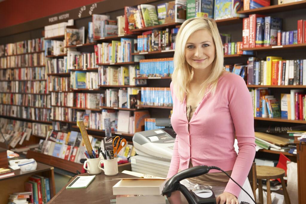 HOLDER UT: Bokhandelen Notabene slipper å legge ned alle butikkene, nå som de er reddet fra konkurs.  Foto: Colourbox