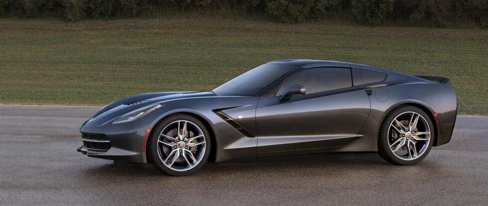 V-åtteren på 6,2 liter som finnes i nye Chevrolet Corvette Stingray er med på årets topp-ti-liste. Foto: Chevrolet