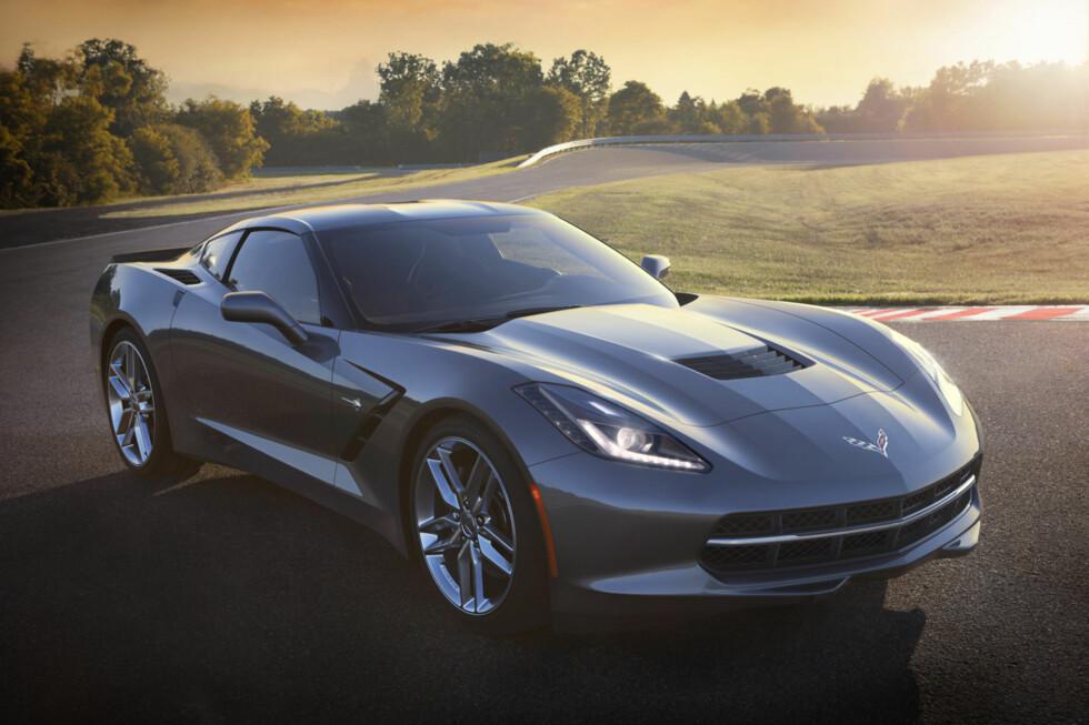 NÅ ER DEN HER: Sjuende generasjon Chevrolet blir i disse dager presentert under motormessa i Detroit. Foto: Chevrolet