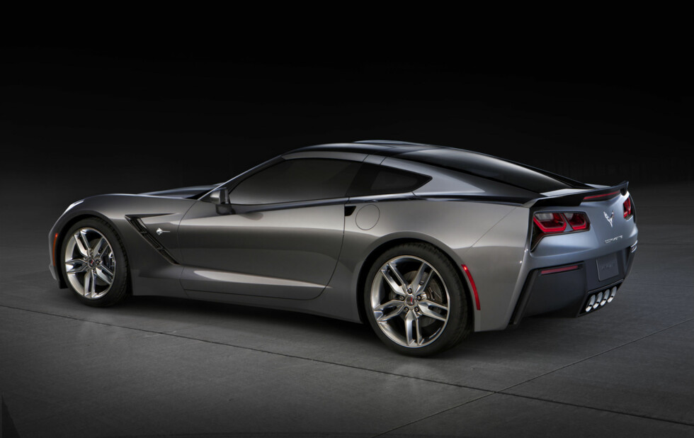 Chevrolet Corvette blir værende igjen på det norske markedet.   Foto: Chevrolet