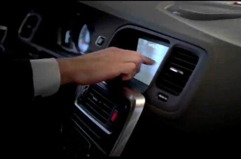 Volvo Sensus: Originalt nettbrett i bilen