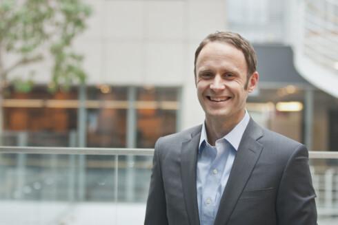 Analytiker Magne Østnor i DNB. Foto: DNB