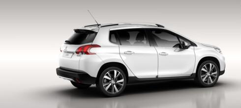 Nå er Peugeot 2008 offisiell