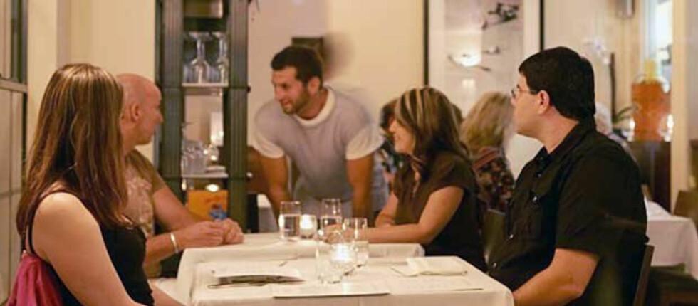 Eva Restaurant i Los Angeles gir gjestene sine fem prosent rabatt på restaurantregningen, om du legger fra deg mobilen når du ankommer restauranten. Foto: Eva Restaurant
