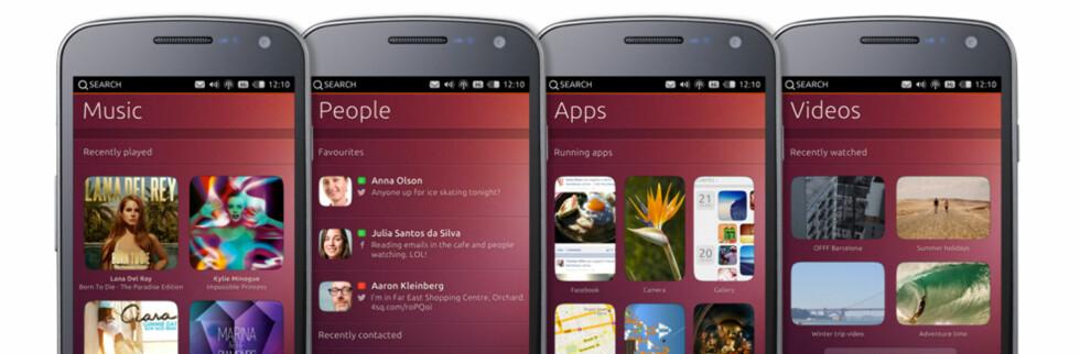 Den populære Linux-distribusjonen Ubuntu kommer nå i mobil utgave.