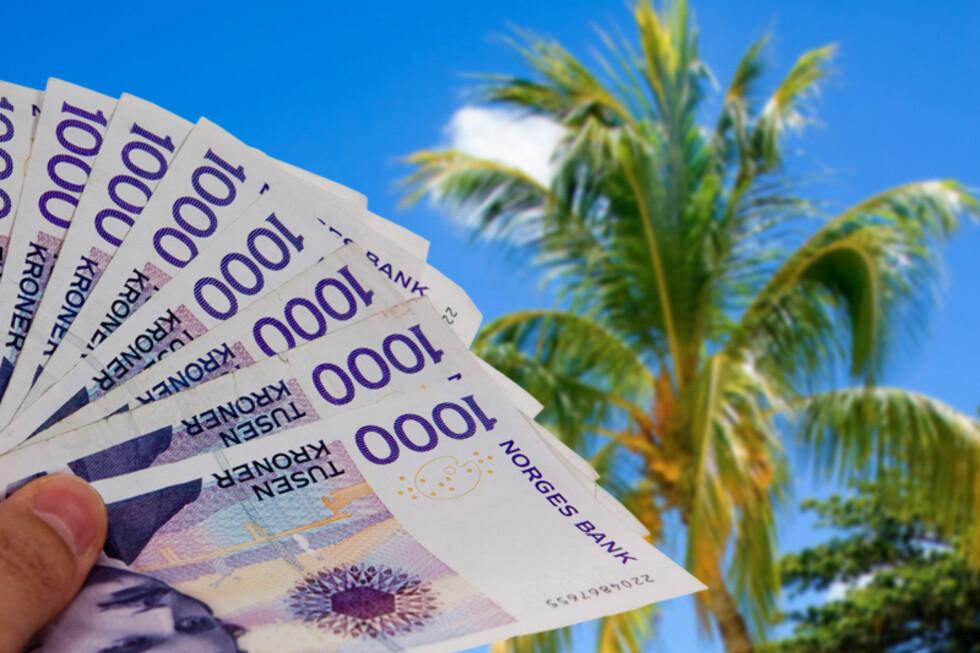 MER LØNN OG MER FRI: Nordmenn flest kan forvente høyere lønn i 2013. Bruker du den økte kjøpekraften på flere reiser, får du dessuten ekstra drahjelp av en sterk norsk krone.  Foto: Per Ervland og Colourbox/Kim Jansson