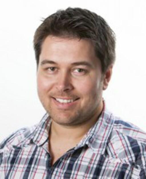 Bjørn Eirik Loftås er DinSides mangeårige dataredaktør. Foto: Per Ervland
